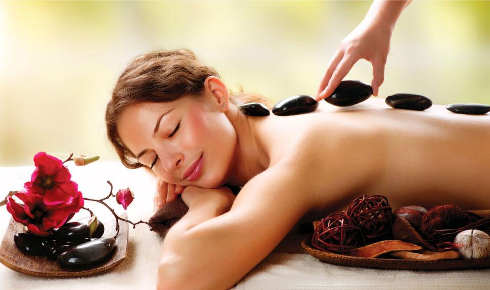 hot stone body massage